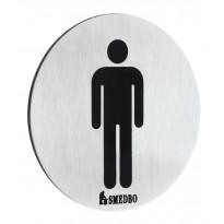 WC-kyltti Smedbo X-tra FS957, miehet