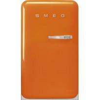Jääkaappi Smeg Retro FAB10LOR2, 114l, oranssi, vasen