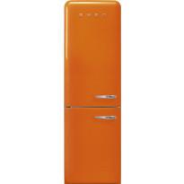 Jääkaappipakastin Smeg Retro FAB32LOR3, 234/97l, oranssi, vasen
