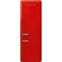 Jääkaappipakastin Smeg Retro FAB38RRD, 333/128l, punainen, oikea