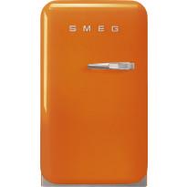 Jääkaappi Smeg Retro FAB5LOR3, 38l, oranssi, vasen