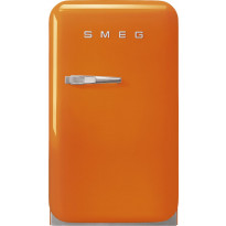 Jääkaappi Smeg Retro FAB5ROR3, 38l, oranssi, oikea