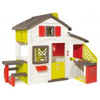 Leikkimökki Smoby Friends House + keittiö