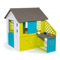 Leikkimökki Smoby Pretty House + keittiö