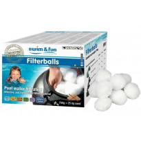 Suodatinpallot Swim & Fun Filterballs 700 g