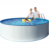 Uima-allas pumpulla Swim & Fun Kreta Ø350x90cm
