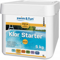 Pikakloori Swim & Fun Klor Starter 5 kg, jauhe