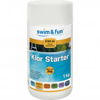 Pikakloori Swim & Fun Klor Starter 1 kg, minitabletit