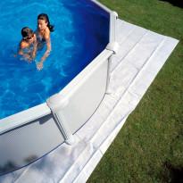 Pohjakangas Swim & Fun Soikea, 610x375cm, Verkkokaupan poistotuote