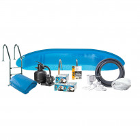 Uima-allaspaketti Swim & Fun Basic InGround 150, 800 x 400 cm upotettava