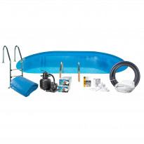 Uima-allaspaketti Swim & Fun Basic InGround 120, 700 x 320 cm upotettava