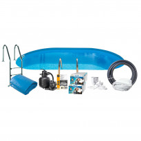 Uima-allaspaketti Swim & Fun Basic InGround 120, 800 x 400 cm upotettava
