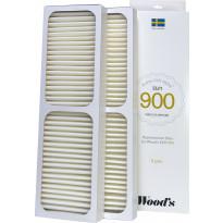 HEPA-suodatin Woods Active ION, ELFI-900 -ilmanpuhdistimelle, 2 kpl