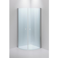 Suihkunurkka INR Basic Stimson, 900x900mm, kirkkaat lasit, kiiltävä alumiini