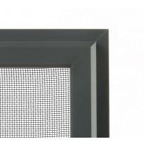 Hyönteissuoja ikkunaan SOLAR sandy HP, mittatilaus, leveys 200-1500 mm, tummanharmaa