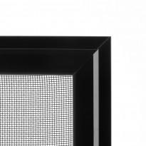 Hyönteissuoja ikkunaan SOLAR sandy HP, mittatilaus, leveys 200-1500 mm, musta