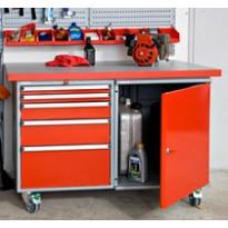 Siirrettävä työpöytä  1200x750 mm