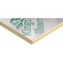 Polyuretaanilevy (SPU) Kingspan Therma TP10 100mm SR 100x1200x2400 suora