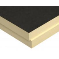 Polyuretaanilevy (SPU) Kingspan Therma TW57 150mm FR 150x1200x2400 metalliton