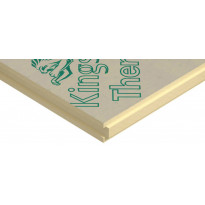 Polyuretaanilevy (SPU) Kingspan Therma TW55 R 100mm 100x1200x2400 metalliton