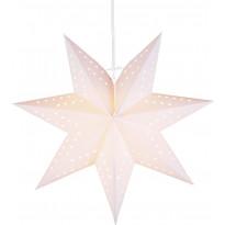 Valotähti Star Trading Bobo, 34cm, paperi, valkoinen