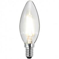 LED-kynttilälamppu Star Trading Illumination LED 351-01-1 Ø 35x98mm, E14, kirkas, 2,3W, 4000K, 270lm