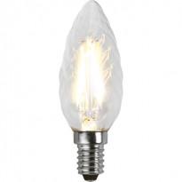 LED-kierrekynttilälamppu Star Trading Illumination LED 351-02 Ø 35x98mm, E14, kirkas, 2W, 2700K, 250lm