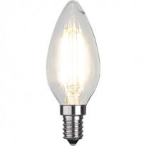 LED-kynttilälamppu Star Trading Illumination LED 351-05 Ø 35x95mm, E14, kirkas, 4W, 2700K, 470lm