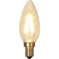 LED-kierrekynttilälamppu Star Trading Decoration LED Soft Glow 353-02 Ø 35x94mm, E14, 1,5W, 2100K, 120lm