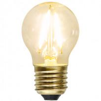 LED-lamppu Star Trading Decoration LED Soft Glow 353-12 Ø 45x80mm, E27, 1,5W, 2100K, 120lm