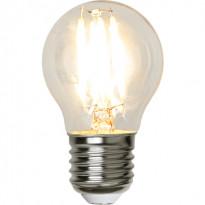 LED-lamppu Star Trading Illumination LED 12-24V Low Voltage 357-71 Ø 45x78mm, E27, kirkas, 2W, 2700K, 250lm