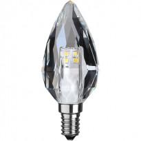 LED-kynttilälamppu Star Trading Illumination LED 361-02 Ø 40x95mm, E14, kirkas, 4W, 4000K, 380lm, himmennettävä