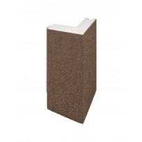 Lämmöneristelevy StoneREX EPS kivirouheella, kulmaelementti, (300×300)×1000×100 mm, eri värivaihtoehtoja