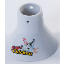 Keraaminen teline Sittin Chicken kanalle