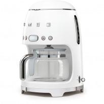 Kahvinkeitin Smeg DCF01 ajastimella, valkoinen