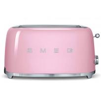 Leivänpaahdin Smeg TSF02PKEU, 4-viipaleen, vaaleanpunainen