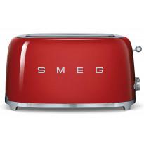 Leivänpaahdin Smeg TSF02RDEU, 4-viipaleen, punainen