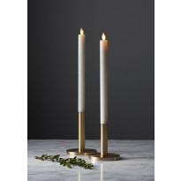 LED-kruunukynttilä Star Trading Twinkle, 30cm, valkoinen, 2 kpl