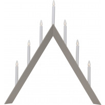 Kynttelikkö Star Trading Arrow, 7-osainen, 64,5cm, beige