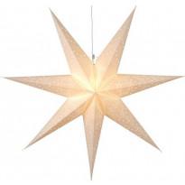Valotähti Star Trading Sensy, 70cm, paperi, valkoinen