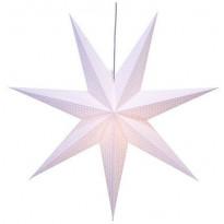 Valotähti Star Trading Huss, 100cm, paperi, valkoinen
