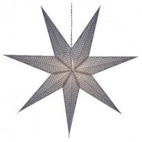 Valotähti Star Trading Huss, 100cm, paperi, harmaa