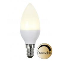 LED-lamppu Illumination LED 337-19 Ø37x103 mm E14 opaali 6,0W 2700K 400lm himmennettävä