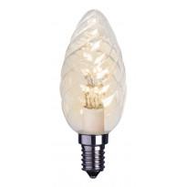 LED-kynttilälamppu Decoration LED 337-31 Ø35x100mm E14 kirkas kierre 0,9W 2100K 75lm