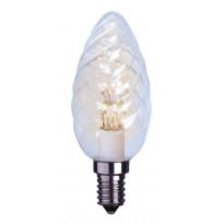 LED-kynttilälamppu Decoration LED 337-36 Ø35x100mm E14 kirkas kierre 0,9W 2600K 55lm