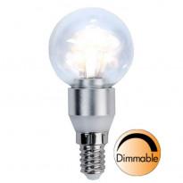 LED-lamppu Illumination LED 338-11 Ø45x91mm E14 kirkas 3,0W 2700K 250lm himmennettävä