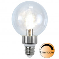 LED-lamppu Illumination LED 338-23 Ø95x145mm E27 kirkas 5,0W 2700K 420lm himmennettävä
