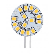 LED-lamppu Illumination LED 344-19 24x10x32 mm G4 12V 2,0W 2700K 180lm