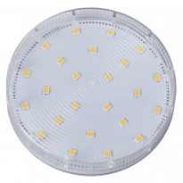 LED-kämmenlamppu Spotlight LED 347-93 Ø75x24 mm GX53 kirkas 5W 2700K 380lm