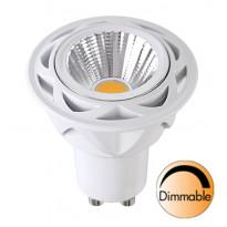 LED-kohdelamppu Spotlight LED 348-12 Ø50x57mm GU10 36° 7,0W 2700K 470lm himmennettävä